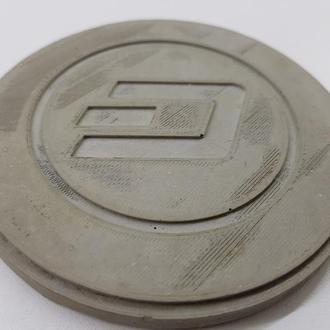 Dash подставка под чашку Dash из бетона - серый
