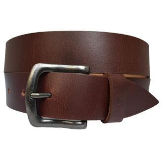 Buffalo2 коричневый кожаный мужской ремень кожанный пояс винтаж для джинсов пасок ремінь