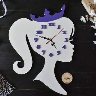 """Часы настенные  """"Принцесса"""""""