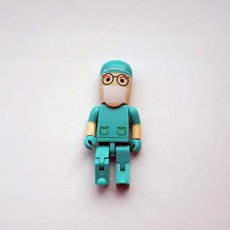 USB флешка врач, хирург, стаматолог 16GB