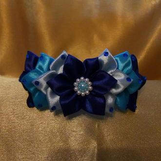 Ободок Синий цветок
