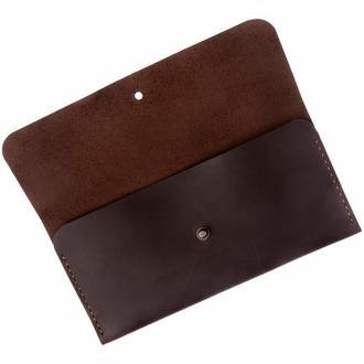 Кожаный кошелек Fancy (chocolate)