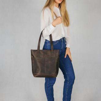 Сумка для ноутбука, Большая женская сумка, Кожаная женская сумка, Сумка через плечо для документов