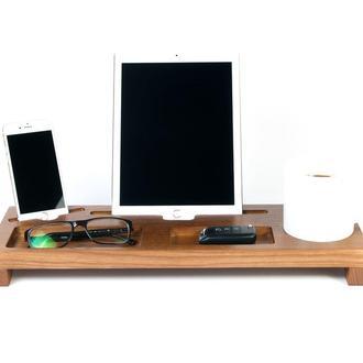 Деревянная подставка для телефона и планшета Waid DS3 Olha