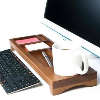 Настольный органайзер из дерева в офис Waid DS4 Olha