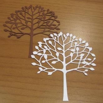 Дерево из картона