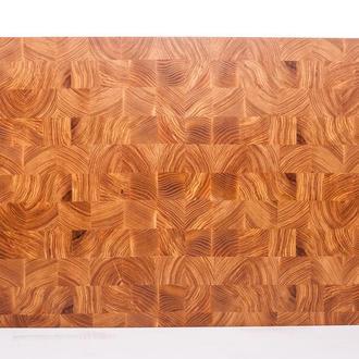 Кухонная торцевая разделочная доска LineWood 60х40х5 см из ясеня