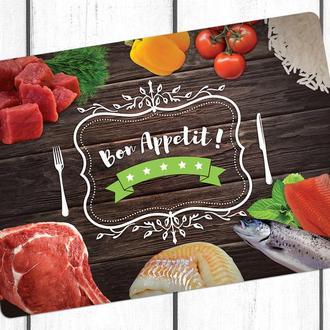 Сервировочные коврики Bon Appetit пластиковые (комплект, 4 шт.)