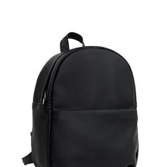 Женский рюкзак чёрный для прогулок, учебы, спортзала