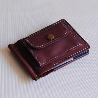 Зажим для грошей з монетницею