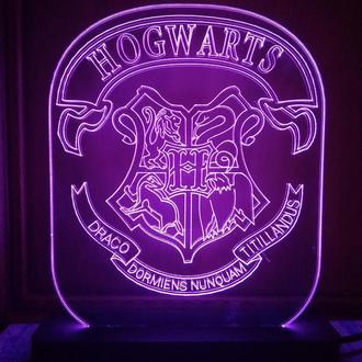 Ночник Светильник Hogwarts Хогвардс Harry Potter