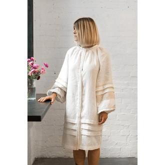 Плаття біле з мереживом