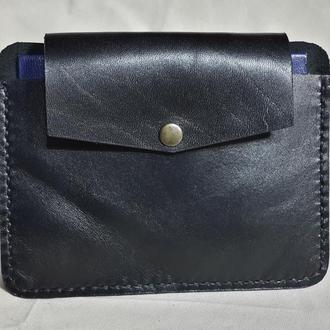 Кожаный кошелёк-обложка на паспорт