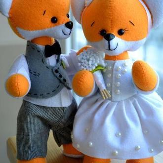 Сладкая парочка: Лис Джек и его невеста Лиса Анжи
