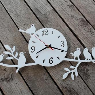 Настінний годинник з пташечками, Настенные часы с птичками