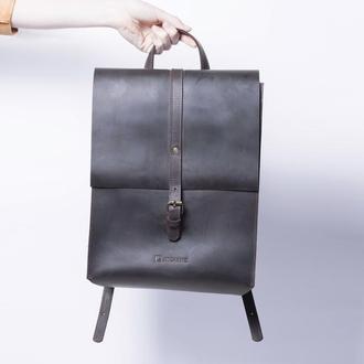 Кожаный рюкзак. / IN01002 коричневый