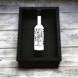Копилка для винных пробок Drink Wine