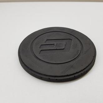 Dash подставка под чашку Dash из бетона - черный