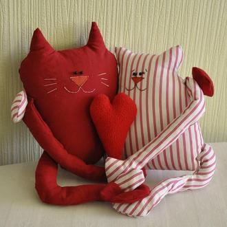 Коты обнимашки, коты обнимаются, кот и кошка, пара котов