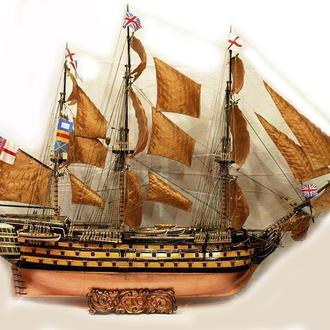 """Корабль адмирала Нельсона """"VICTORY"""""""