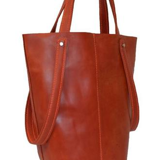 Красная Женская сумка.
