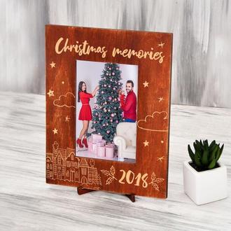 """Рамка для фотографии """"Christmas memories"""""""