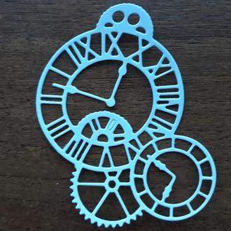 Часовой механизм бумажная вырубка для творчества