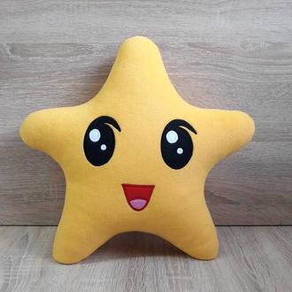 Мягкая игрушка-подушка Звездочка из Малышариков