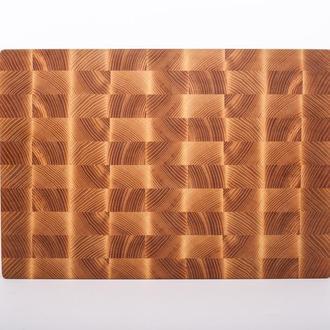 Кухонная торцевая разделочная доска LineWood 40х25х3,5 см из ясеня
