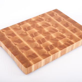Кухонная торцевая разделочная доска LineWood  50х35х4,5 см из ясеня