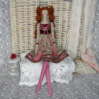 Кукла в стиле Тильда Эмилия 52см