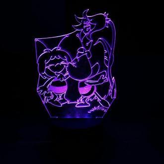 Пчелка Майя, ночник, светильник, лампа, в детскую, подарок ребенку, декор, дизайн, освещение