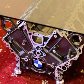 Журнальный стол из двигателя