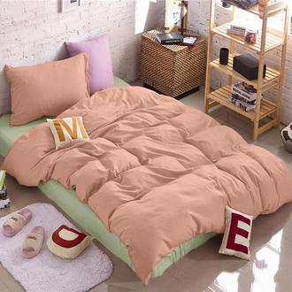 Подростковое двухстороннее постельное белье в сочетаниях с Коралловым