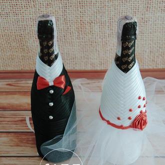 Декор для шампанского арт. А1002