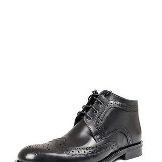 Ботинки с молнией на шнурках мужские DASTI Bold черные