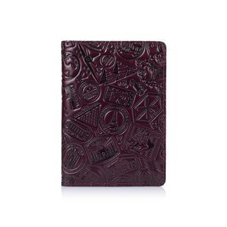 "Обложка для паспорта  HiArt PC-01 Crystal Sangria ""Let's Go Travel"""