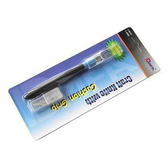 Нож макетный с резиновой ручкой, 5 лезвий C-601GS