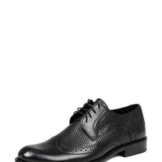 Туфли с перфорацией мужские DASTI Summer черные