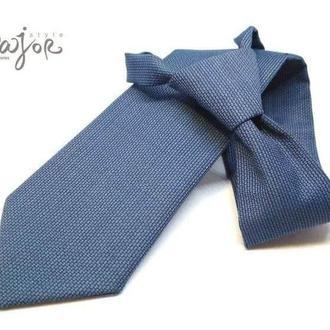 Детский галстук голубой