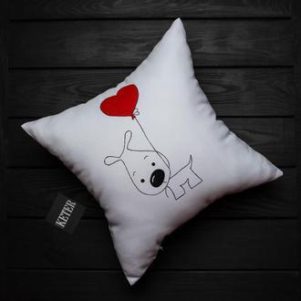 Декоративная подушка на подарок любимым
