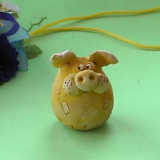 Свинья фигурка свинка №4
