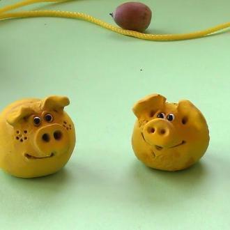 Свинки фигурка свинка №8 пара