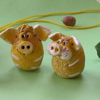 Свинки фигурки свиней №9 пара