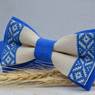 Галстук - Бабочка в Украинском стиле
