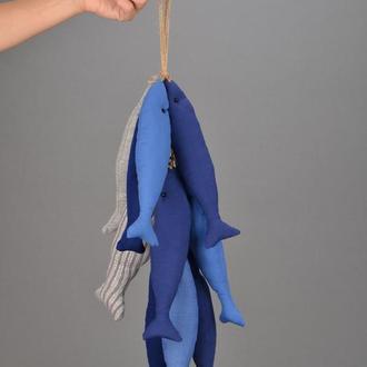 Улов рыбки морские