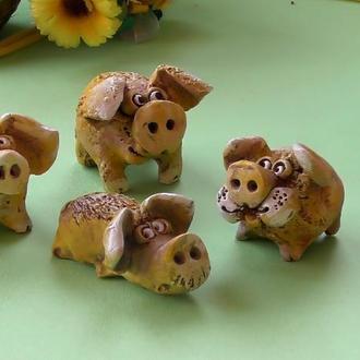 Свинья фигурки свинки №11 набор