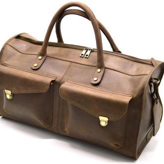 Дорожная кожаная сумка, даффл, саквояж RC-5664-4lx TARWA