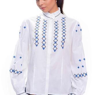 """Дизайнерська ділова блуза """"Зіронька"""""""