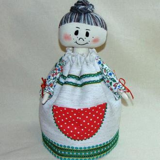 Баба для чайника - грелка на заварник